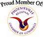 Proud Member of the Phoenixville Regional Chamber of Commerce