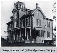 Bower Science Hall at Myerstown