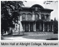 Mohn Hall in Myerstown
