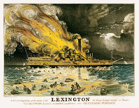 Lexington postcard