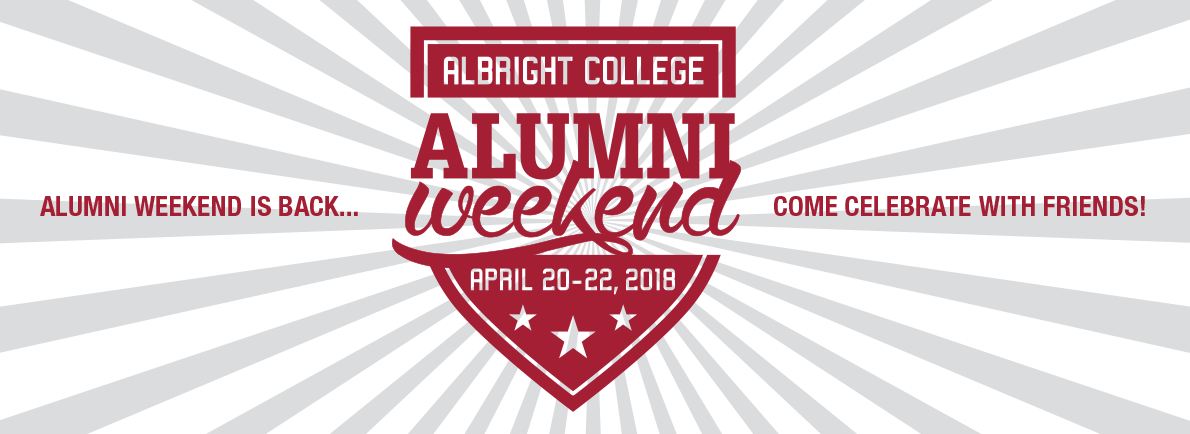 Alumni Weekend banner image