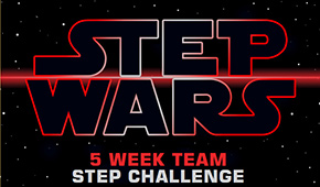 Step Wars graphic