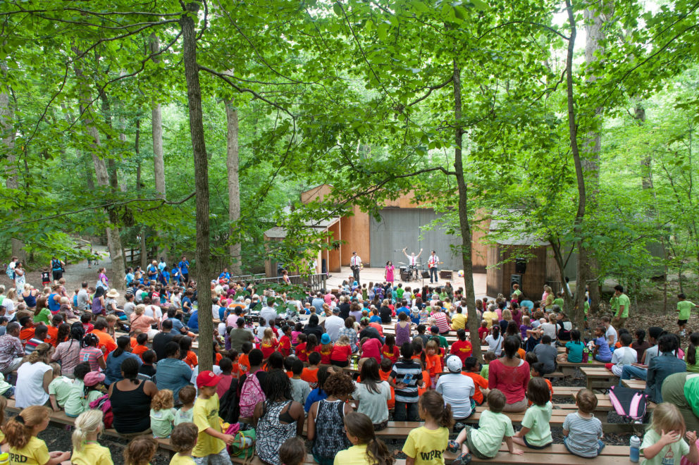 Wolf Trap's Children's Theatre in the Woods
