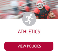 Athletics policies graphic