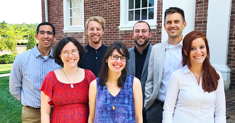 photo of new faculty members
