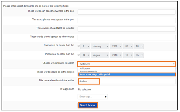 Create and grade discussion forums image 5