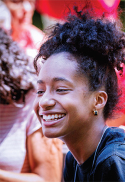 photo of smiling student