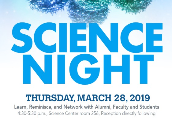 """""""Science Night"""" March 28"""