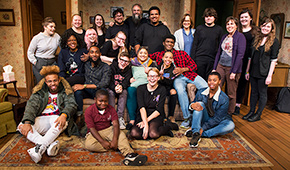 photo of Raisin in the Sun cast