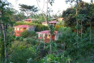 One lodging location for Albright study abroad trip in Costa Rica