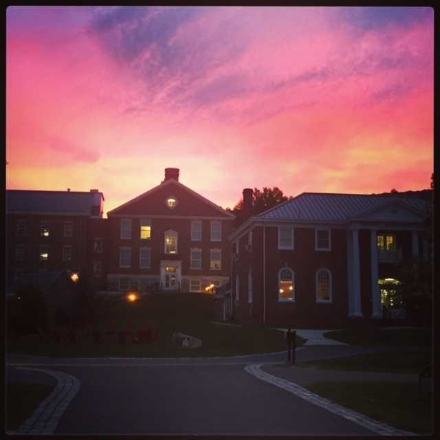 Albright College History - Sunset