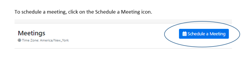 "Lion's Edge ""Schedule a Meeting"" icon."