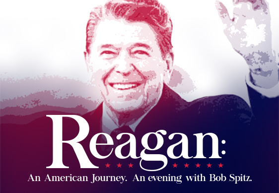 """Reagan: An American Journey"" book cover"