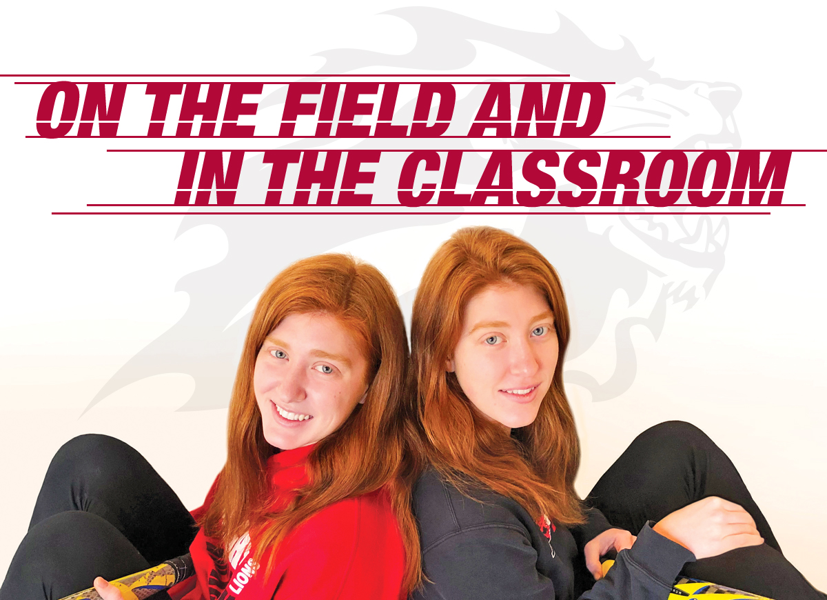 Double Threat On The Field and In The Classroom, The Crumling Twins