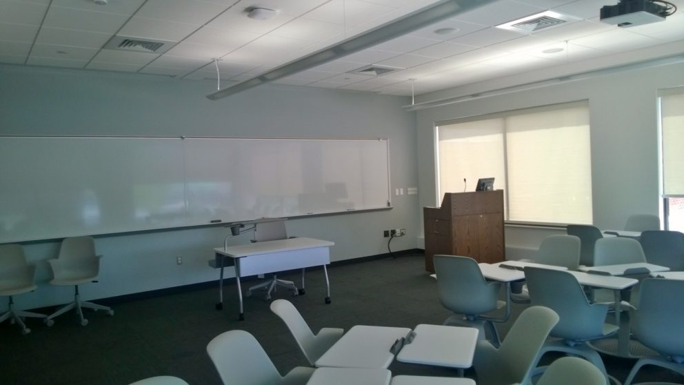 image of Roessner Hall room 105