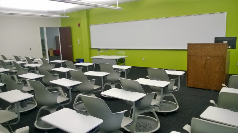 image of Roessner Hall room 203