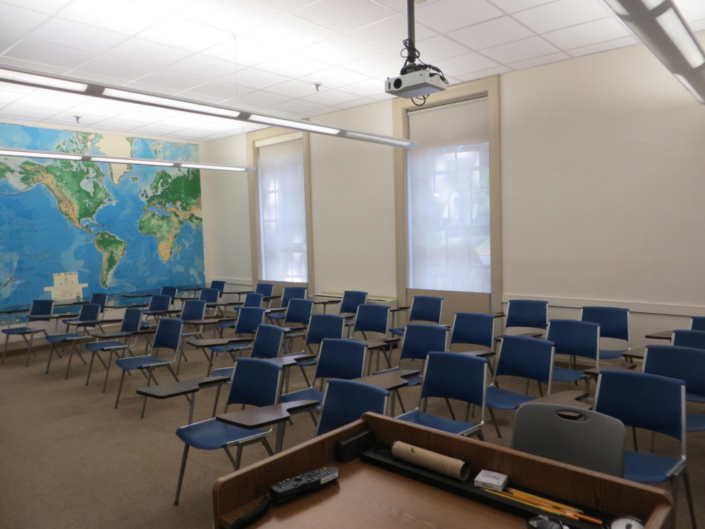 image of Teel Hall room 101A
