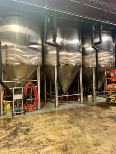 Tanks at Sly Fox Brewery