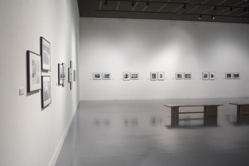 Empty gallery of Contemporary Photography