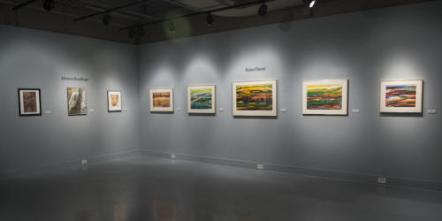 Overview of Richard Hamwi and Adrienne Brendlinger's work in the gallery